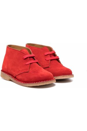 Gallucci Kids Lace-up suede boots