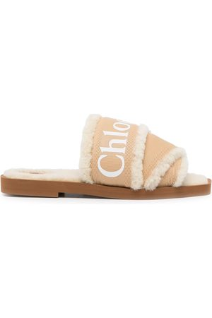 Chloé Woody shearling-lining sandals