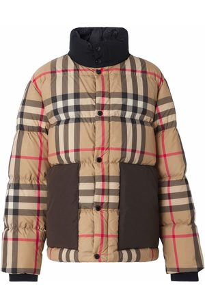Burberry Vintage Check puffer jacket