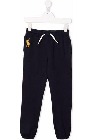 Ralph Lauren Kids Meisjes Joggingbroeken - Embroidered polo Pony track pants