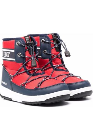 Moon Boot Kids Crossover-strap moon boots