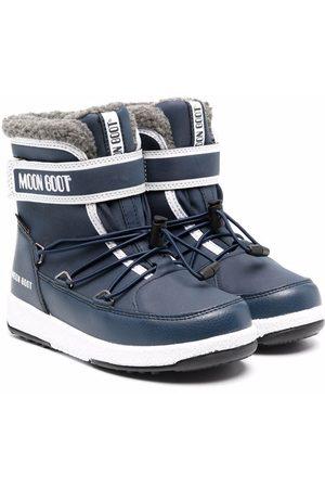 Moon Boot Kids Jongens Snowboots - WP touch-strap snow boots