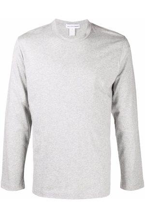 Comme Des Garçons Shirt Logo-print long-sleeve T-shirt