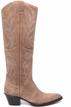 Buttero Embroidered-design boots