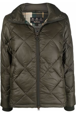 Barbour Alness quilted high-neck jacket