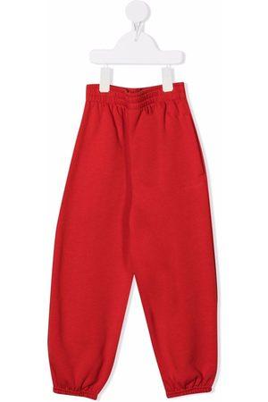 Balenciaga High-waisted drop-crotch track pants