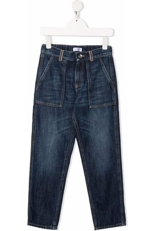 Brunello Cucinelli Kids Straight-leg jeans