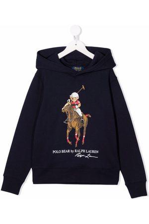 Ralph Lauren Kids Jongens Hoodies - Polo Pony long-sleeve hoodie