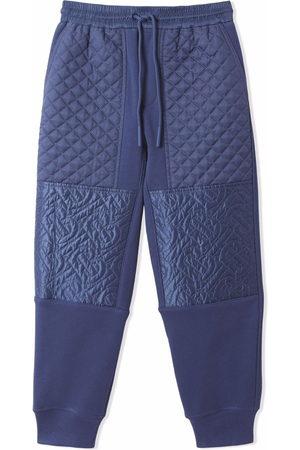 Burberry Kids Monogram quilted panel jogging pants