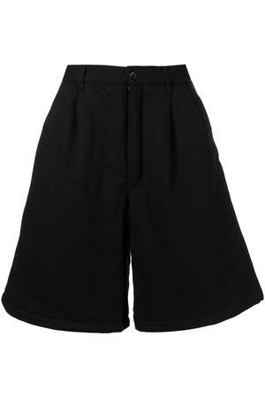 Comme des Garçons Heren Bermuda's - Woven pleated wool pants