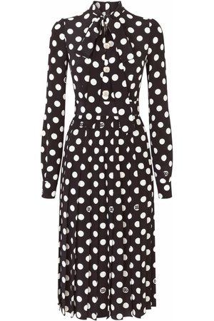 Dolce & Gabbana Polka-dot mid-length dress