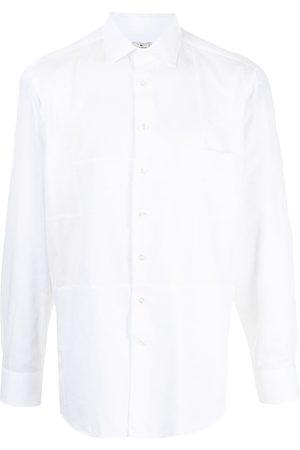 ETRO Panelled button-down shirt