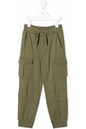 Stella McCartney Kids Cotton cargo pants