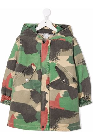 Stella McCartney Kids Camouflage-print coat