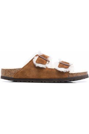 Birkenstock Heren Outdoor Sandalen - Arizona fur-lined sandals