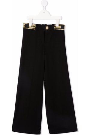 Moschino Kids Wide-leg trousers