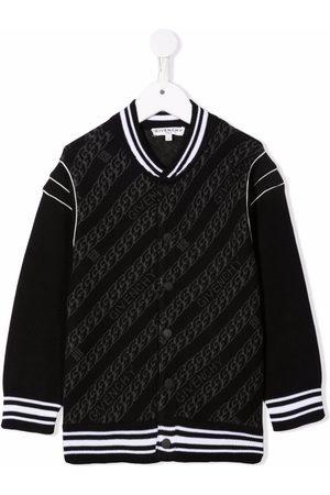 Givenchy Kids Logo bomber jacket