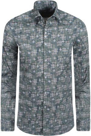 Ferlucci Heren Overhemden - Heren overhemd calabria slimfit stretch