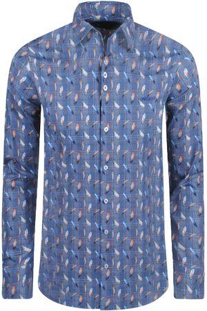 Ferlucci Heren Overhemden - Heren overhemd calabria due slimfit stretch
