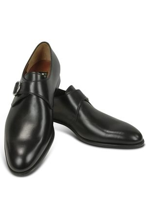Fratelli Rossetti Calf Leather Monk Strap Shoes
