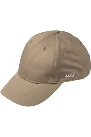 jack & jones Heren Petten - Jxbasic Klein Logo Baseball Pet Dames Beige; Brown