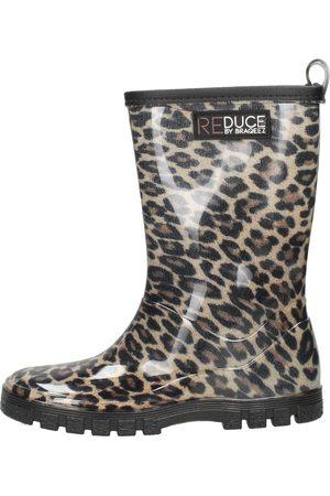 Reduce By Braqeez Meisjes Regenlaarzen - Rainboot Leopard