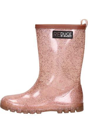 Reduce By Braqeez Meisjes Regenlaarzen - Rainboot Glitter Pink