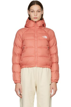 The North Face Dames Donsjassen - Pink Down Hydrenalite Hooded Puffer Jacket