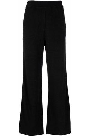 M Missoni Logo-tape high-waisted flared pants