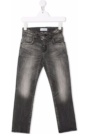 Paolo Pecora Kids Distressed-effect jeans