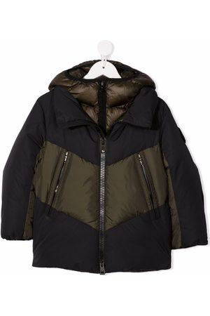 Moncler Enfant Two-tone puffer coat