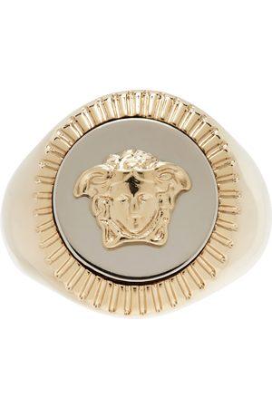 VERSACE Gold Medusa Signet Ring