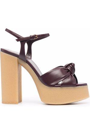 Saint Laurent Bianca 145mm sandals