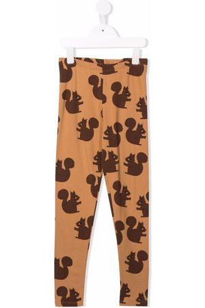 Mini Rodini Squirrel print leggings