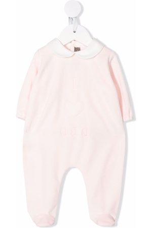 LITTLE BEAR I love dad embroidered pajamas