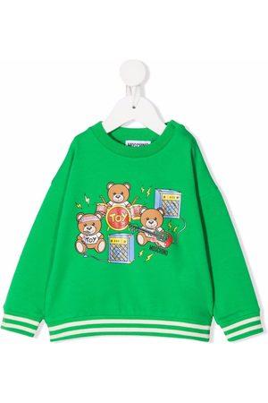 Moschino Kids Toy Bear Music sweatshirt