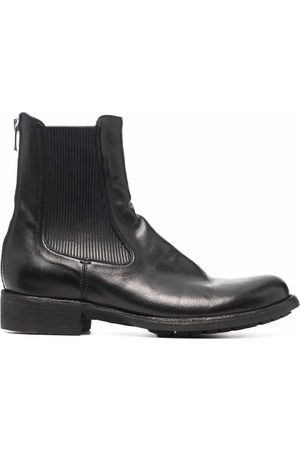 Officine Creative Legrand leather-panel boots
