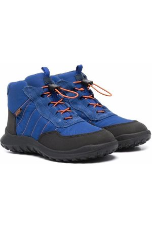 Camper Kids Waterproof lace-up ankle boots