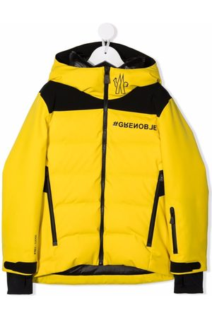 Moncler Enfant Two-tone puffer jacket