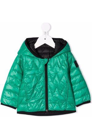 BOSS Kidswear Reversible puffer jacket