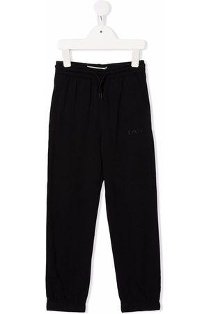 Levi's Kids Embroidered-logo track pants