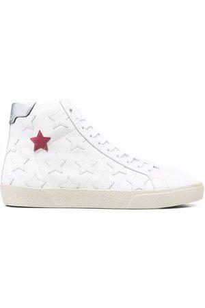 Saint Laurent Star-patch design sneakers
