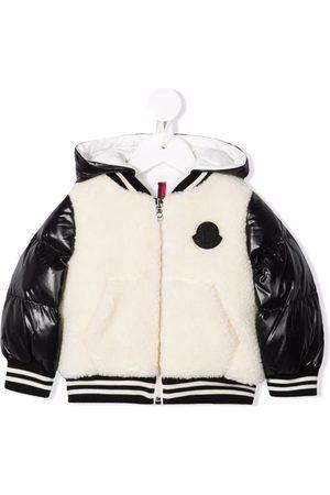 Moncler Enfant Hooded bomber jacket