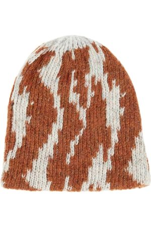 PAADE Meisjes Mutsen - Intarsia merino wool-blend beanie