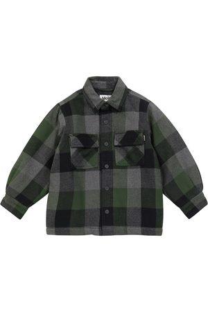 Molo Hayes checked cotton shirt