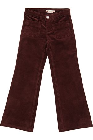 BONPOINT High-rise flared corduroy pants