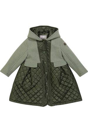 Il gufo Padded virgin wool duffel coat