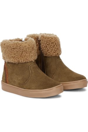 Petit Nord Chubby shearling-lined ankle boots