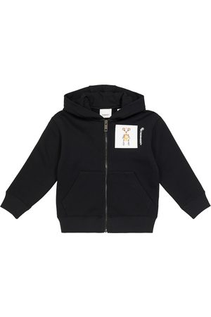 Burberry Printed cotton hoodie