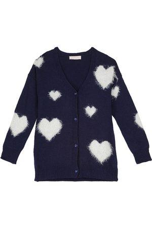 MONNALISA Wool-blend cardigan